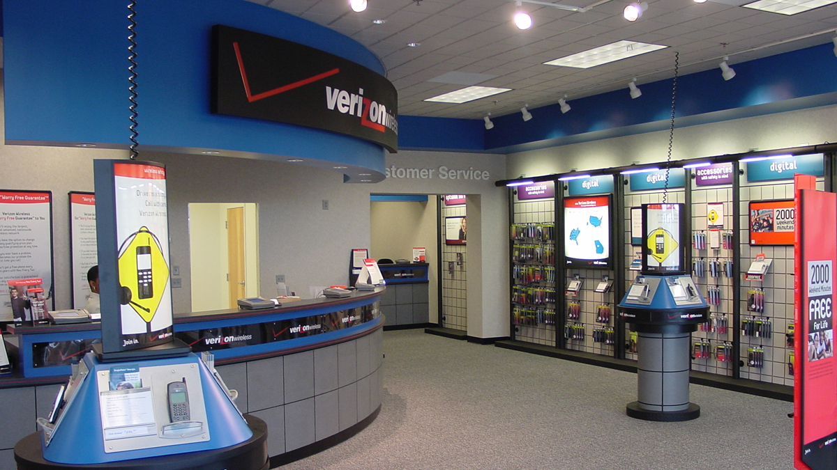 Verizon Wireless Company Stores - Over 60 locations