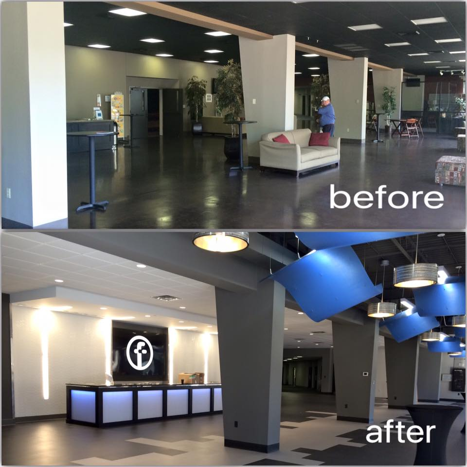 FCS Lobby Before-After
